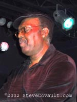Merl Saunders at Cane's, Mission Beach, 2002.  Rest in Peace.
