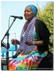 Odetta at Adams Ave Roots Festival, 2005