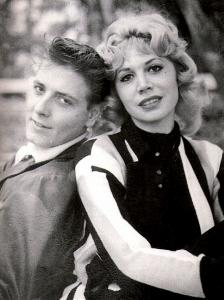 Sharon Sheeley with Eddie Cochran